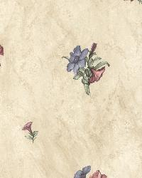 Petunia Purple Marble Floral by