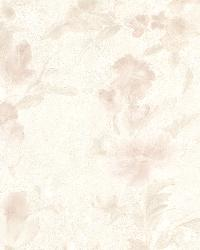 Violetta Peach Satin Floral by