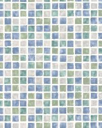 Harbor Blue Sea Glass Tiles by