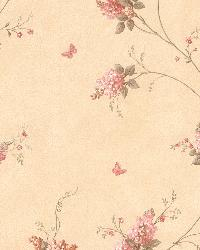Isabelle Pink Butterfly Floral Trail by