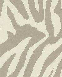 Zebbie Taupe Zebra Print by