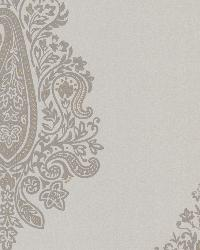Dynasty Taupe Paisley by