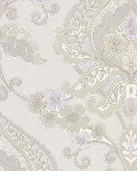Ashbury Lavender Paisley Damask by