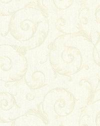 Eros Beige Flowing Scroll by