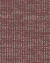 Ramses Burgundy Woven Texture by  Brewster Wallcovering