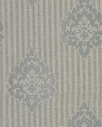 Donald Grey Transitional Damask Print by
