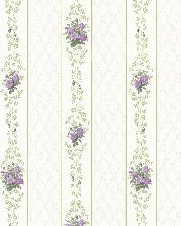 Jaynie Purple Trellis Stripe by
