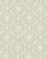 Bella Green Damask by