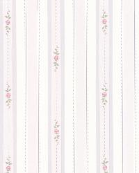Belle Purple Rose Stripe by