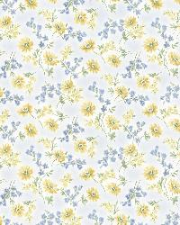 Lizabeth Blue Allover Floral by