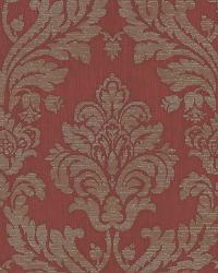 Hughes Red Royal Damask by