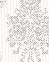 Chambers Platinum Floral Damask by