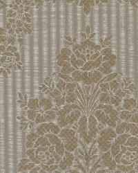 Chambers Brass Floral Damask by