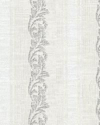 Rennie Stripe Light Grey Scrolling Stripe by