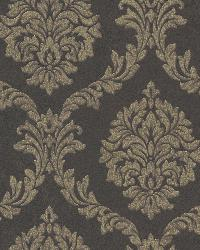 Tennyson Brown Shimmer Damask by
