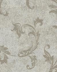 Milton Taupe Shimmer Scroll by