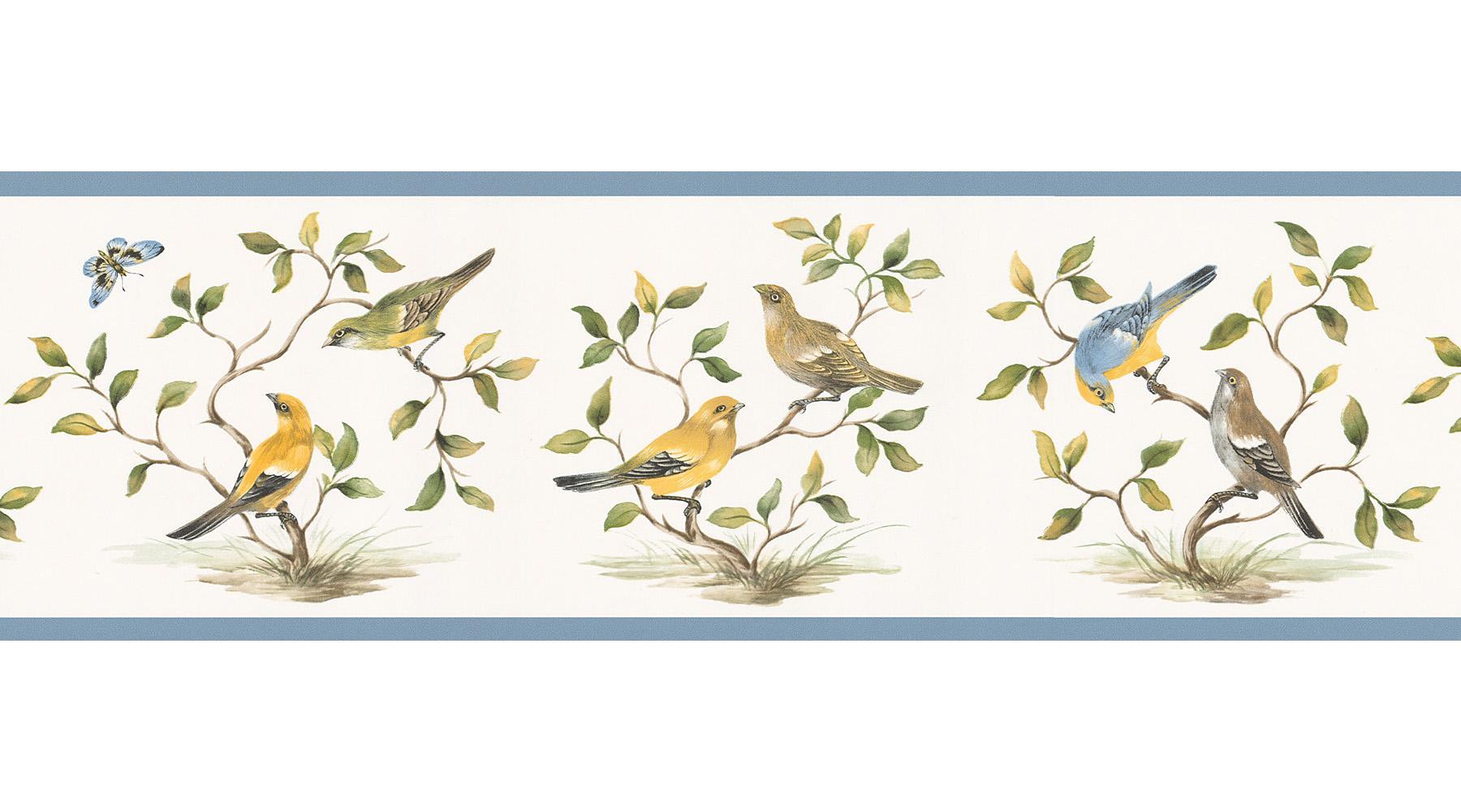 Bird wallpaper border hd wallpapers blog for Wallpaper borders