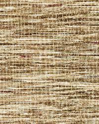 Liu Brown Vinyl Grasscloth by