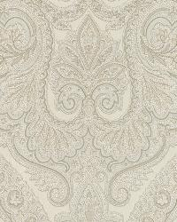 Forsythe Cream Paisley by