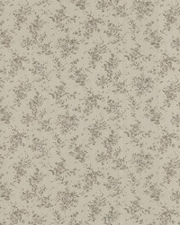 Viviane Taupe Watercolour Floral by  Mirage