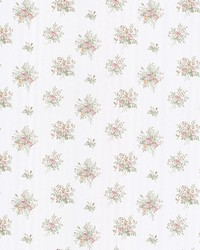 Myrna Pastel Linen Floral Toss by  Mirage