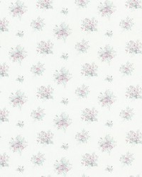 Myrna Purple Linen Floral Toss by