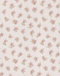 Clarissa Pink Small Floral Toss by