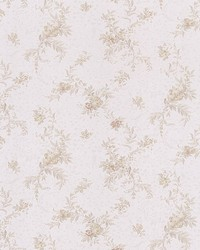 Cecilia Taupe Botanical Satin by