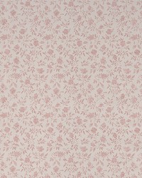 Rosalind Pink Satin Floral Toss by