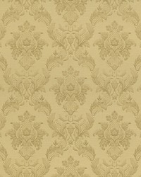 Vincent Gold Damask Silk by