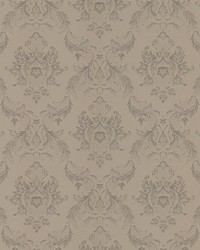 Monique Taupe Damask by
