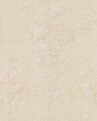 Mirabelle Cream Floral Damask by