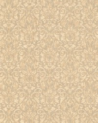 Tilda Taupe Mid Damask  by