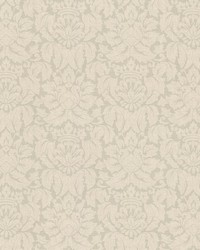 Franco Light Green Damask  by