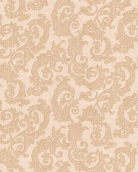 Fulham Light Brown Scrolls by