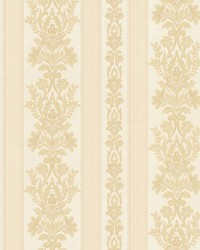Kensington Beige Damask Stripe by