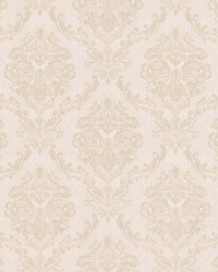 Westminster White Damask by