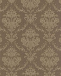 Westminster Brown Damask by