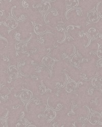Highgate Mauve Embroidered Scroll by