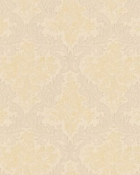 Cotswold Cream Floral Damask by