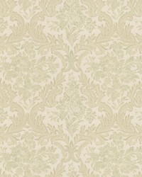 Cotswold Light Green Floral Damask by