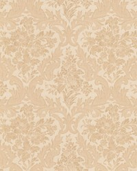 Cotswold Peach Floral Damask by