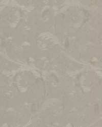 Isleworth Silver Floral Scroll by