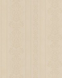 Kensington Neutral Damask Stripe by