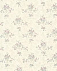 Kezea Lavender Petit Floral Urn by