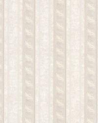 Montague Mauve Scroll Stripe by
