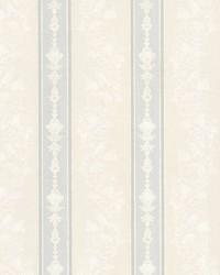 Abraham Light Grey Embellished Stripe by
