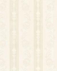 Abraham Ivory Embellished Stripe by