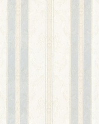 Tybalt Light Grey Damask Stripe by