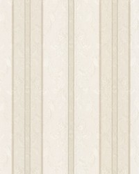 Tybalt Taupe Damask Stripe by